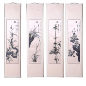 Shayier China 's Intangible Cultural Heritage Chinese Handmade Paper-cut Chinese Paper-cut Art Wall Scroll