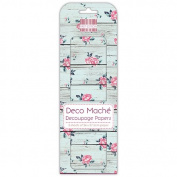 Wood Wash Deco Mache x 3 Paper Sheets Tissue Patch Craft Trimcraft