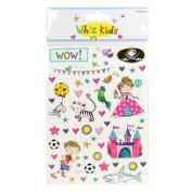 Whiz Kids by Rachel Ellen - Card Craft Embellishment Double Sided Stickers
