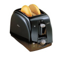 Sunbeam 2-slice Extra Wide Slots Cool Touch Toaster with Anti-jam Feature, Black