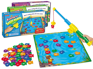 Lakeshore Fishing for Sight-Words Game - Set of 3
