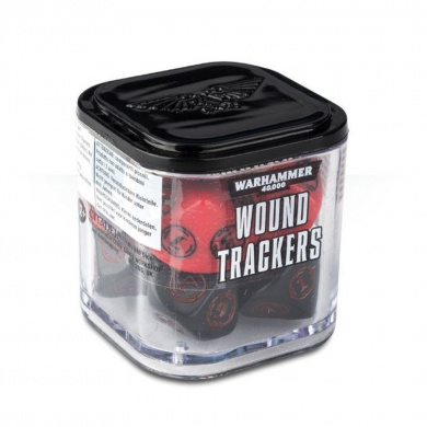 Wound Trackers Warhammer 40,000 (colours may vary)