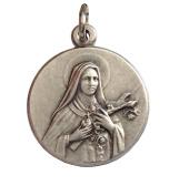 Saint Therese of Lisieux Medal - ( Jesus Child of Praga ) - The Patron Saints Medal