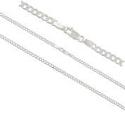 Curb Chain Made Of 925 Sterling Silver