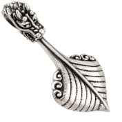 Viking Dragon Boat, large Pendant 925 Silver