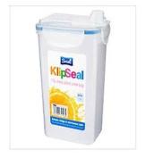 2 X 1.3l Airtight Fridge Water Juice Squash Milk Drinks Container Jug