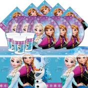 Disney Frozen Northern Lights Princess Birthday Party Girls Tableware Decoration