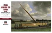 "1/72 MT58 German railway gun K5 (E) ""Leopold"" w / figures"