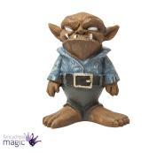 Fiddlehead Fairy Garden Accessory Mini Miniature Bob the Goblin Troll Home Gift
