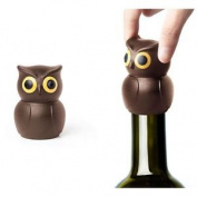Brown Owl Wine Bottle Stopper Sealer Saver