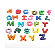 Freedi Magnetic Letters for Refrigerator Wooden Alphabet Educational Kids Toys Gifts Set of 26