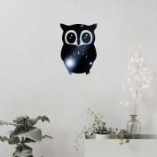 Sticker Mirror, ZTY66 Removable 3D Owl Mirror Acrylic Art Vinyl Mural Sticker for DIY Home Decor