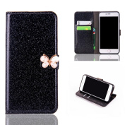 Stand Wallet Card Case Cover,Elaco Women Iphone Case For iPhone 6/6s 12cm /For iPhone 6 Plus 14cm / iPhone 7 12cm /iPhone 7 Plus 14cm
