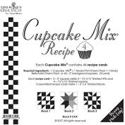 Moda Cupcake Mix Recipe Foundation Paper Pattern Pad #4