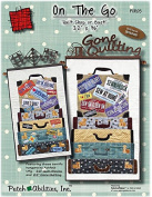 On The Go Row by Row Licence Plate Wallhanging Quilt Pattern