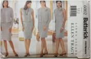 Butterick Fast & Easy 6002 Vintage Sewing Pattern - Misses'/Misses' Petite Jacket, Dress, Top & Skirt - Size 8-10-12