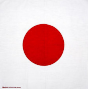 Spinner Flag of Japan Japanese bandana handkerchief headwrap head wrap biker 50cm X 50cm . Better Bag Cloth Tee Shirt