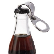 Po Selected Stainless Steel Silver Ring Pull Can Tab Bottle Opener, 5 X 2.1 X Cm