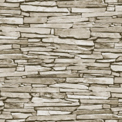 New Debona Slate Pattern Realistic Faux Effect Stone Photo Wallpaper 1275 Roll