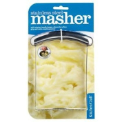Stainless Steel Potato Masher - Easy To Use Firm Grip