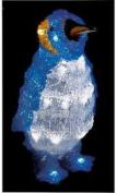 32cm White Led Acrylic Baby Penguin Xmas In/outdoor Decoration