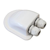 Waterproof Double Cable Entry Gland For Cable Diameter 3-7mm, For Motorhomes,