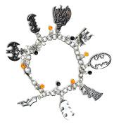 Batman Charm Bracelet - Superhero Jewellery With Batman Logo Silver Charms In Gift Box …