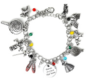 Wizard Of Oz Charm Bracelet - Once Upon A Time Jewellery - Gift Box Included