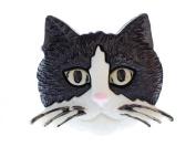 Cats head Brooch Miniblings cat head cat Brooch pin Button Buttons Cat