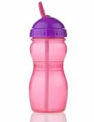 Aqua Flip Top Bottle Pink 350ml 893 36