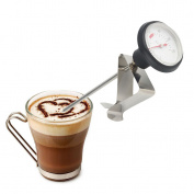 Stainless Steel Kitchen Espresso Coffee Milk Frothing Thermometer Craft Dg