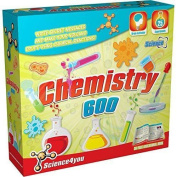 Science4you Chemistry 600 Childrens/kids Science Experiment Educational Kit Set