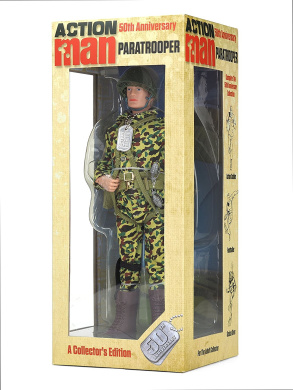 """Action Man Am714 """"50th Anniversary Paratrooper"""" Figure - Toys"""
