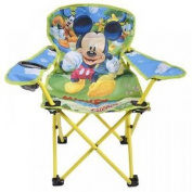 Disney Mickey Mouse Childrens Kids Folding Deck Chair Garden Patio Camping Seat
