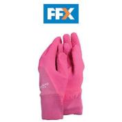 Town And Country Tgl271m Master Gardener Ladies Pink Gloves Medium