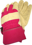 Town & Country Thermal Lined Suede Leather Gardening Gloves Ladies Tgl108m