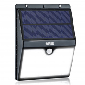 (16 Led) Amir Solar Motion Sensor Lights Solar Powered Garden Wall Lights Wat...