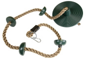 Climbing Rope with Small Platforms and Disc Swing Seat