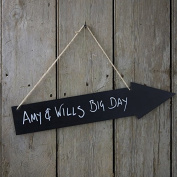 Ginger Ray Wooden Chalkboard Arrow Sign - Vintage Affair