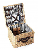 Greenfield Collection Clarendon Willow Picnic Hamper For Two People