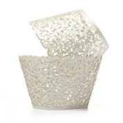 Rosenice Cupcake Wrappers Cupcake Cases Cupcake Holders Muffin Cups50pcs