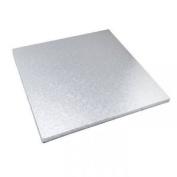 Essential Housewares Silver Foil Baking Cake Presentation Board - Square, 36cm