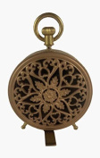 Nikky Home Table Clock With Handle Quartz Analogue Pocket Watch Vintage Design