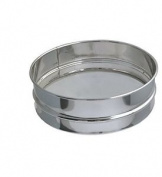 De Buyer 4604.21 Stainless Steel Flour Sieve With Stainless Steel Mesh, 21 Cm
