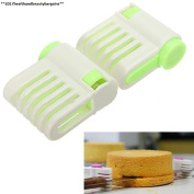 Portable Diy Cake Bread Cutter Leveller 5 Layers Slicer Cutting Fixator Tools...