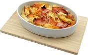 Wooden Trivet / Hot Dish Food Serving Board - 30cm X 20cm