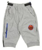 NBA Men's French Terry Tearaway Jogger Shorts, Grey, Multiple Teams