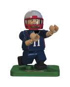 NFL GEN3 New England Patriots Julian Edelman Limited Edition Minifigures, Blue, Small