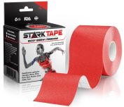 Bulk Kinesiology Tape ~ Designed to Help Boost Athletic Performance, Prevent Joint & Muscle Pain & Ease Inflammation, Easy to Apply, 97% Natural Cotton /3% Spandex, 5.1cm W x 35m L, with Bonus eBook