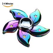 Fidget Spinner Bauhinia Flower Hand Spinning Rainbow Flower Toy High Speed 3-4 Min Spins EDC Focus Stress Reducer Toy Perfect for Girl by MAIYUAN